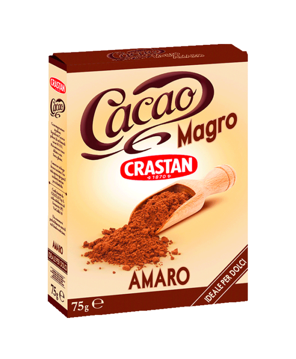 cacao magro in polvere crastan