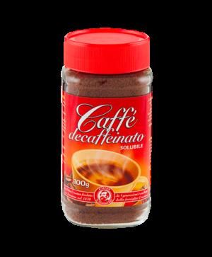 caffè decaffeinato solubile crastan
