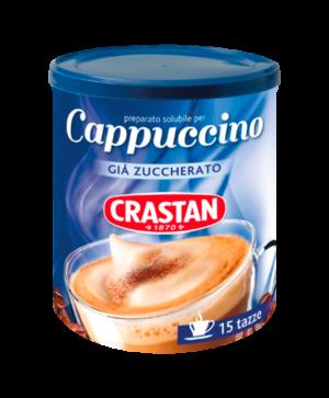 cappuccino solubile zuccherato crastan