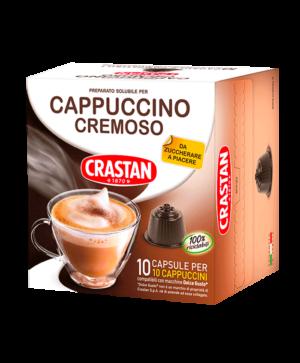 capsule cappuccino cremoso compatibili dolce gusto crastan