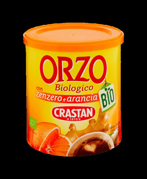 orzo zenzero e arancia biologico crastan